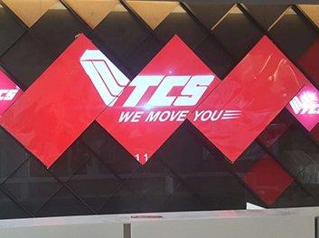 Mosaic Videowall at TCS Ecom Center