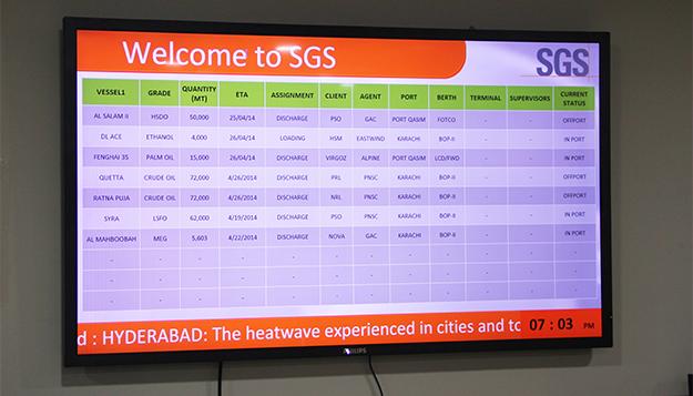 Electronic Digital Bulletin Boards In Pakistan