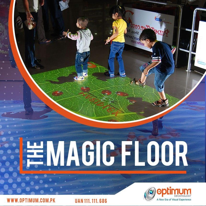 The Sensory Magic of Interactive Floors
