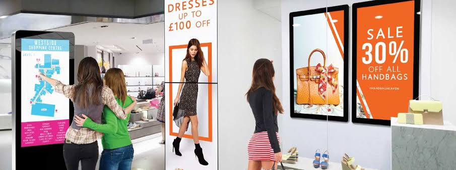 TOP 7 ADVANTAGES OF DIGITAL SIGNAGE FOR YOUR BUSINESS