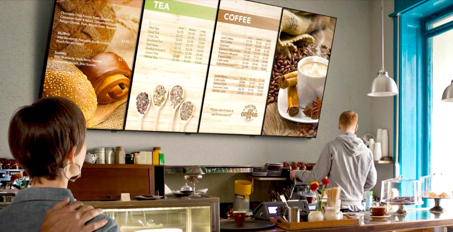 What is the importance of digital menu boards?